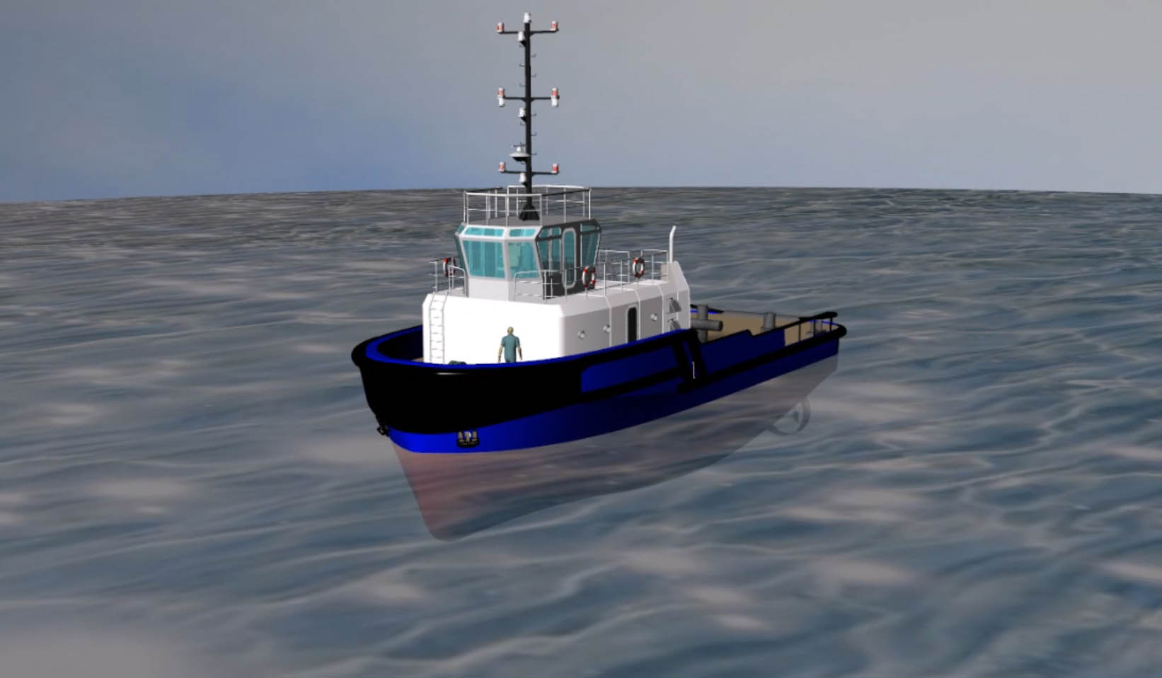 Harbour Tug BLU32t BP